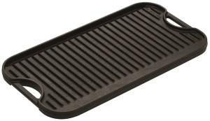 Lodge LPGI3 Cast-Iron Reversible GrillGriddle Induction20-inch10inch