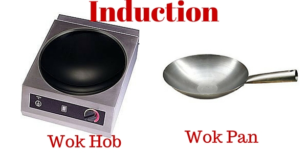 induction hob wok and compatible pans. Black Bedroom Furniture Sets. Home Design Ideas