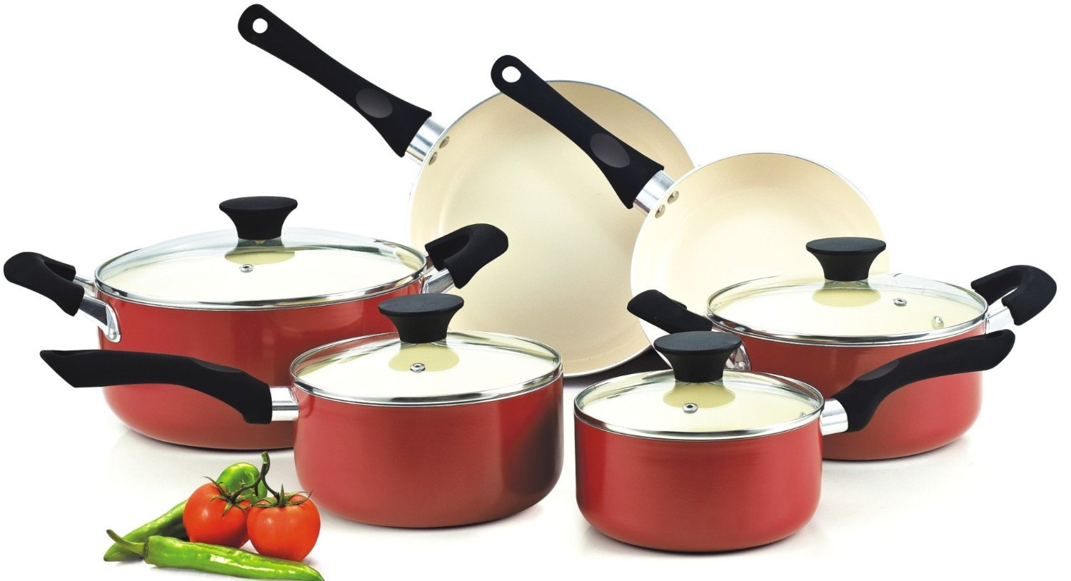 6 Best Non Toxic Ceramic Induction Cookware Sets To Use With Ranges