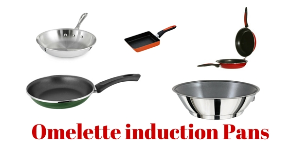 Omelette induction Pans