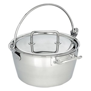 Maslin Pan with Lid