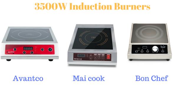 3500winductionburners