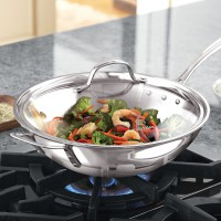 Calphalon Wok Induction with Lid