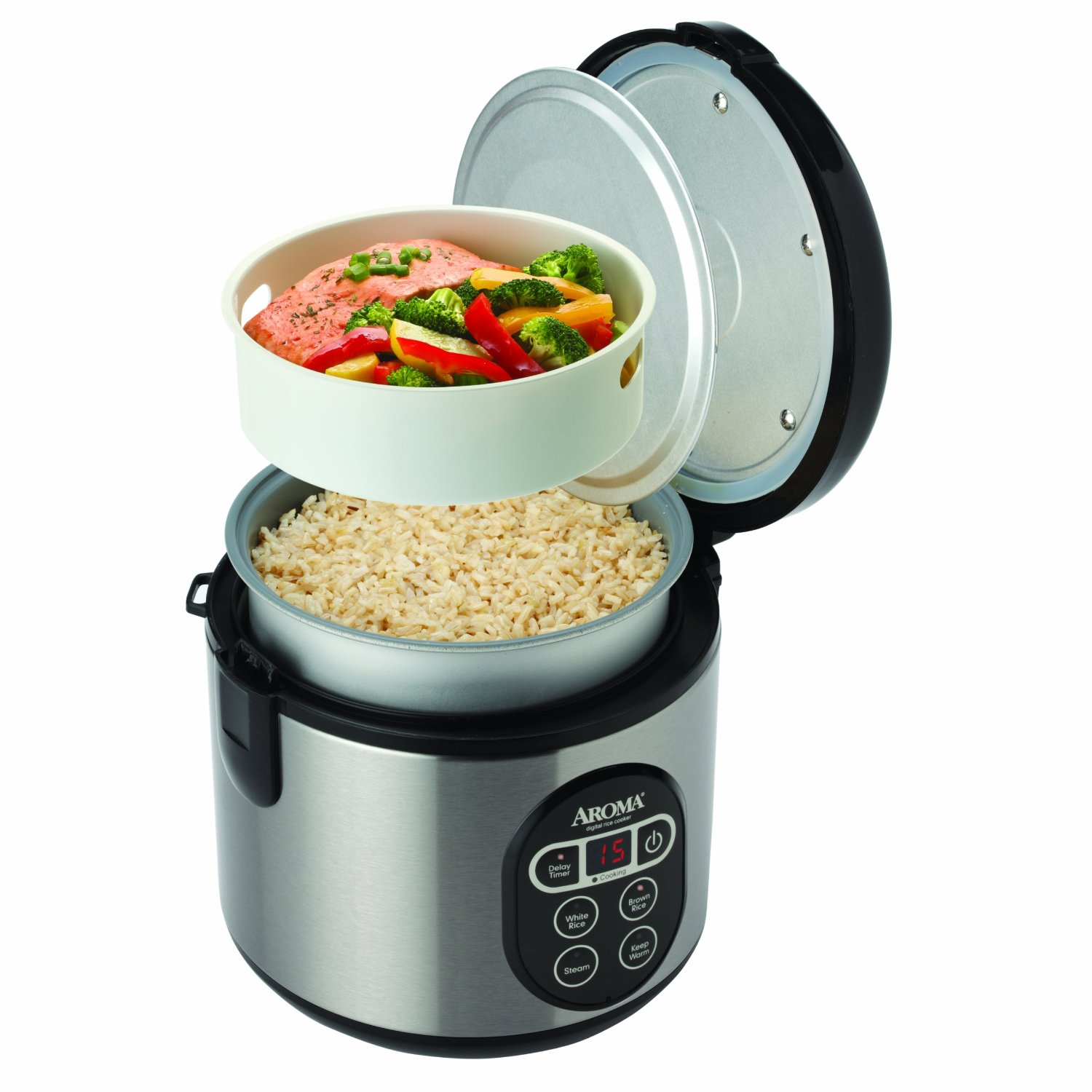 7 Full Stainless Steel Rice Cookers with Reviews (2017) - Essential Guide