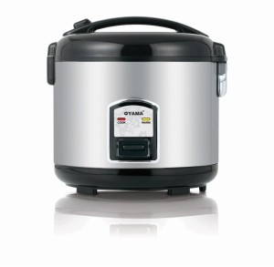 Oyama Rice cooker Stainless Steel