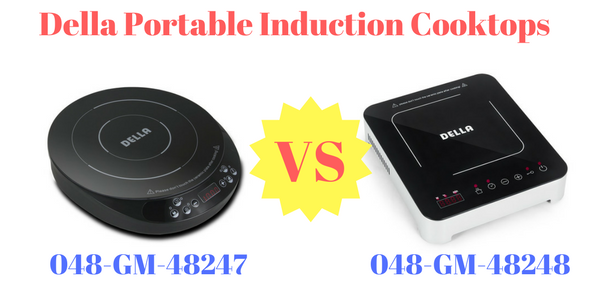 Della Portable Induction Cooktops
