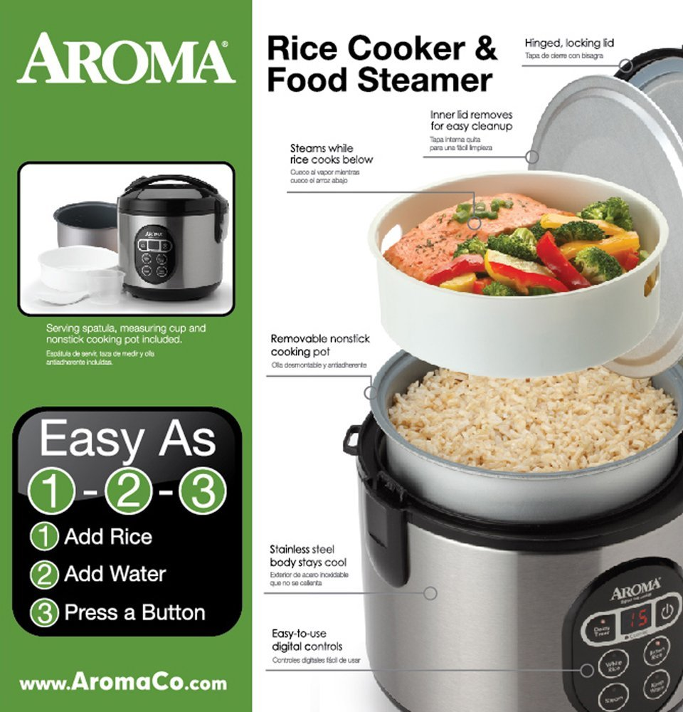 5 Best Aroma Rice Cookers with Delay Timer and Reviews. Which one is for  You?
