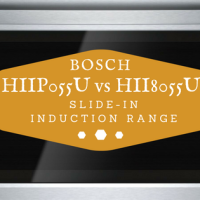 bosch slide in induction range