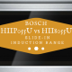 bosch slide in induction range