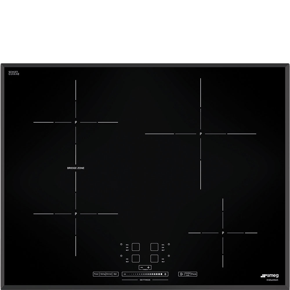 Smeg 26inch induction cooktop SIMU524B