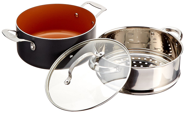Gotham Steel Vs Red Copper 10 Pcs Cookware Set Comparison