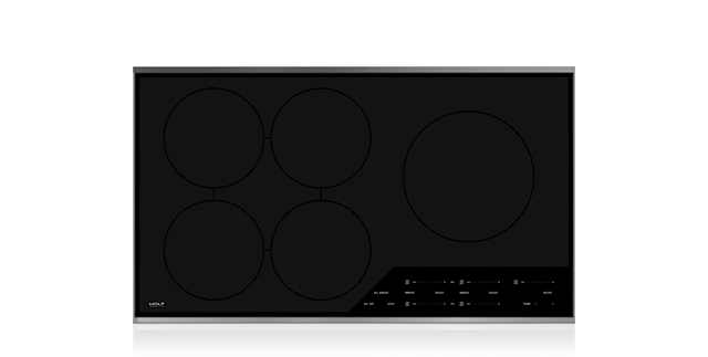 Wolf 5 Burner induction cooktop