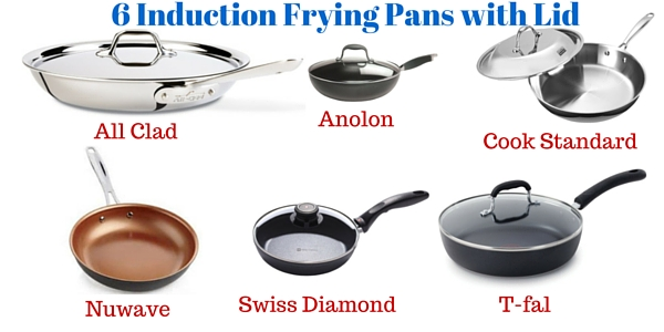 Top 6 Induction Frying Pans With Lid